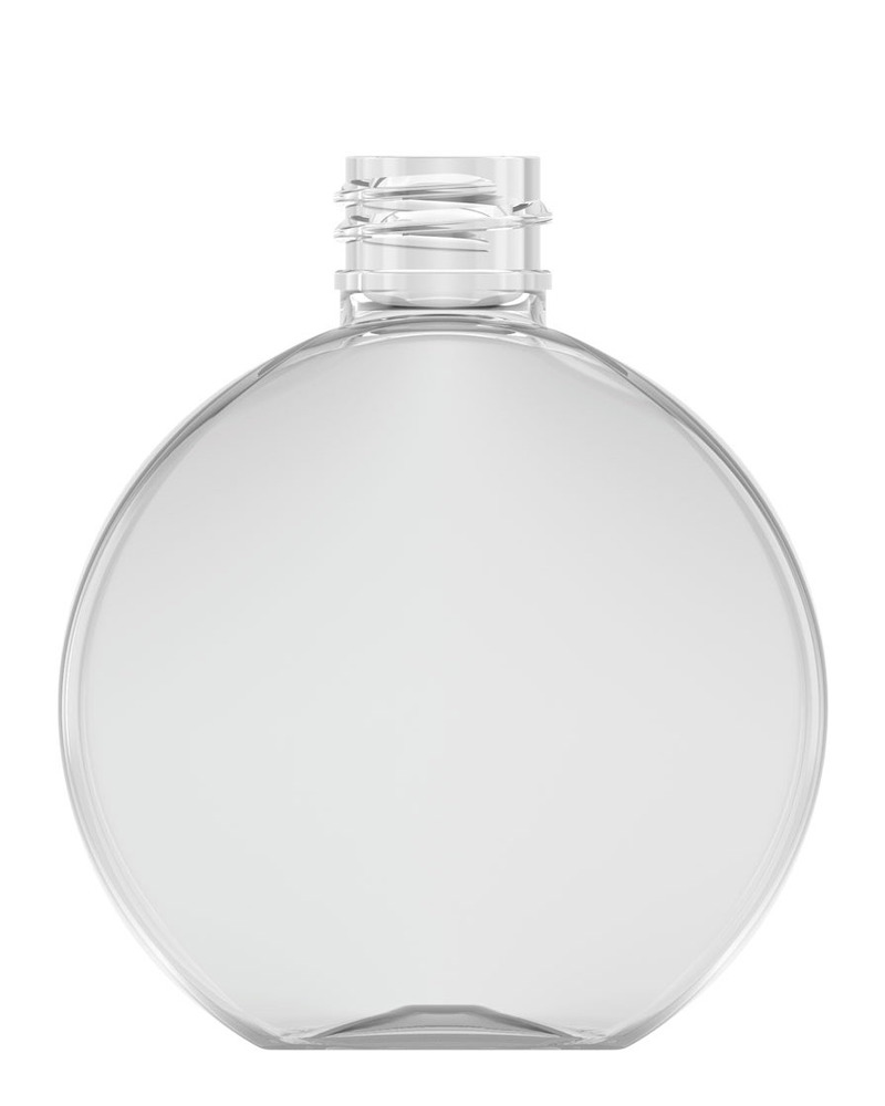 Flat Round Bottle 100ml 1