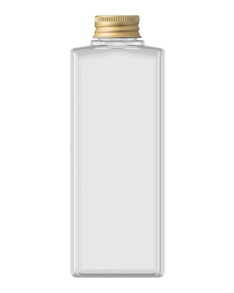 Rectangular Bottle 200ml 5