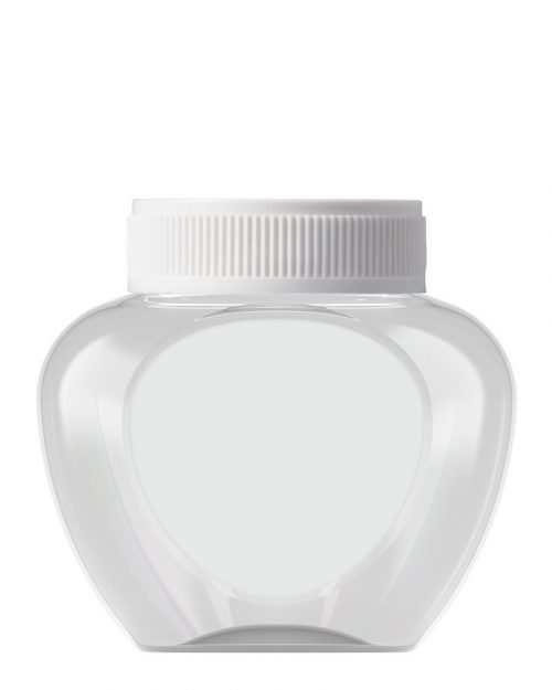 Heart Shaped Jar 420ml