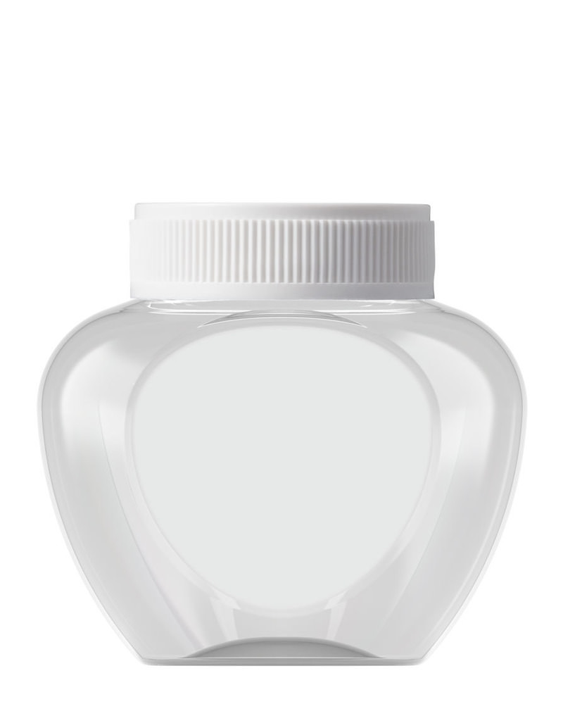 Heart Shaped Jar 420ml 4