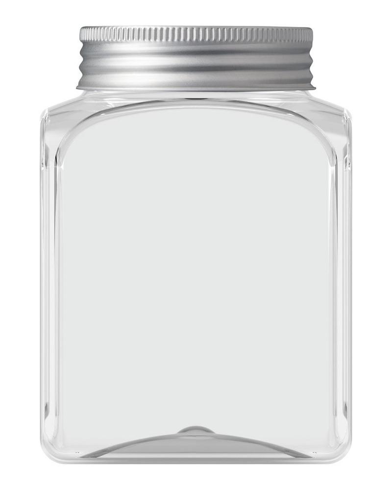 Rectangular Jar 500ml 4