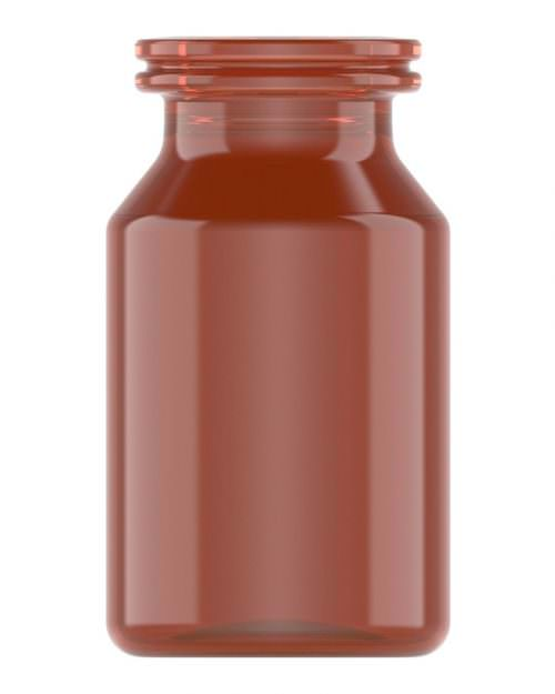 Clinch Vial Amber 10ml