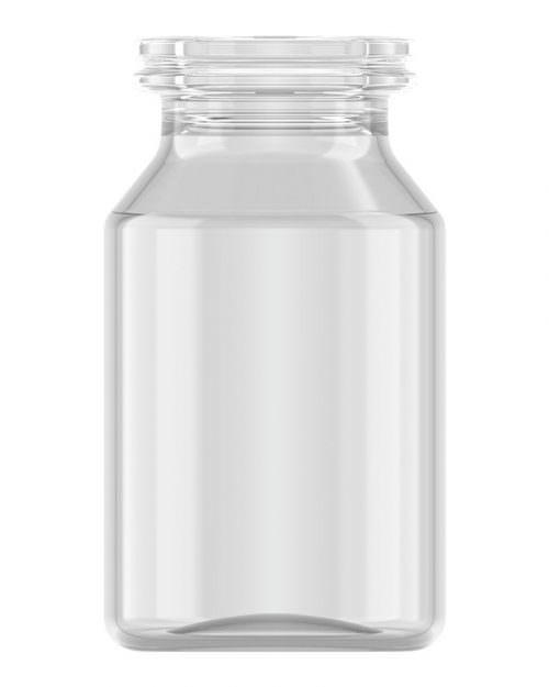 Clinch Vial Clear 10ml