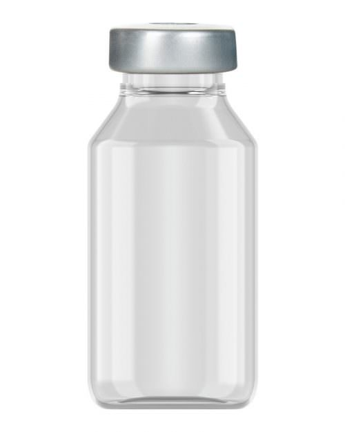 Clinch Vial Clear 20ml