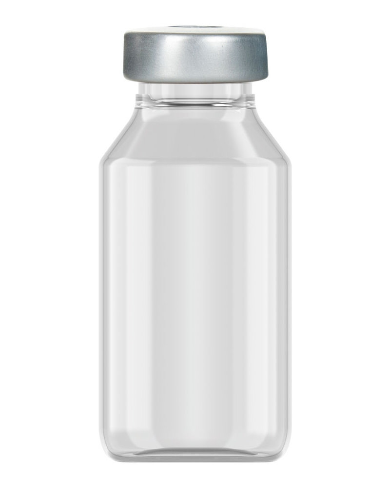 Clinch Vial Clear 20ml  2