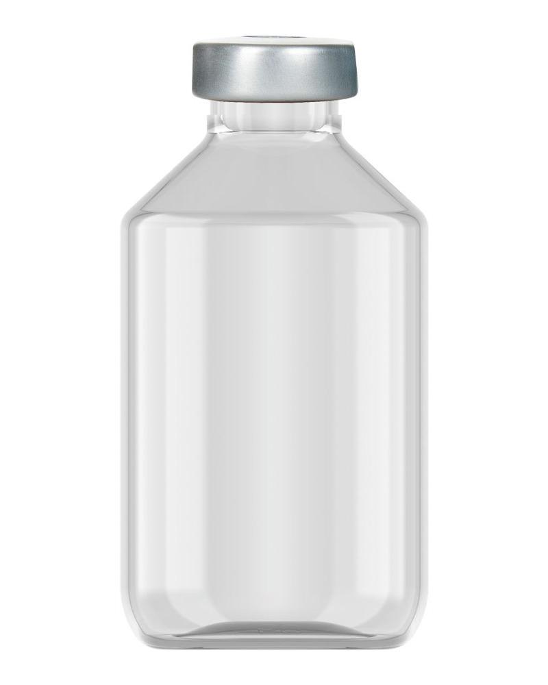 Clinch Vial Clear 50ml  2