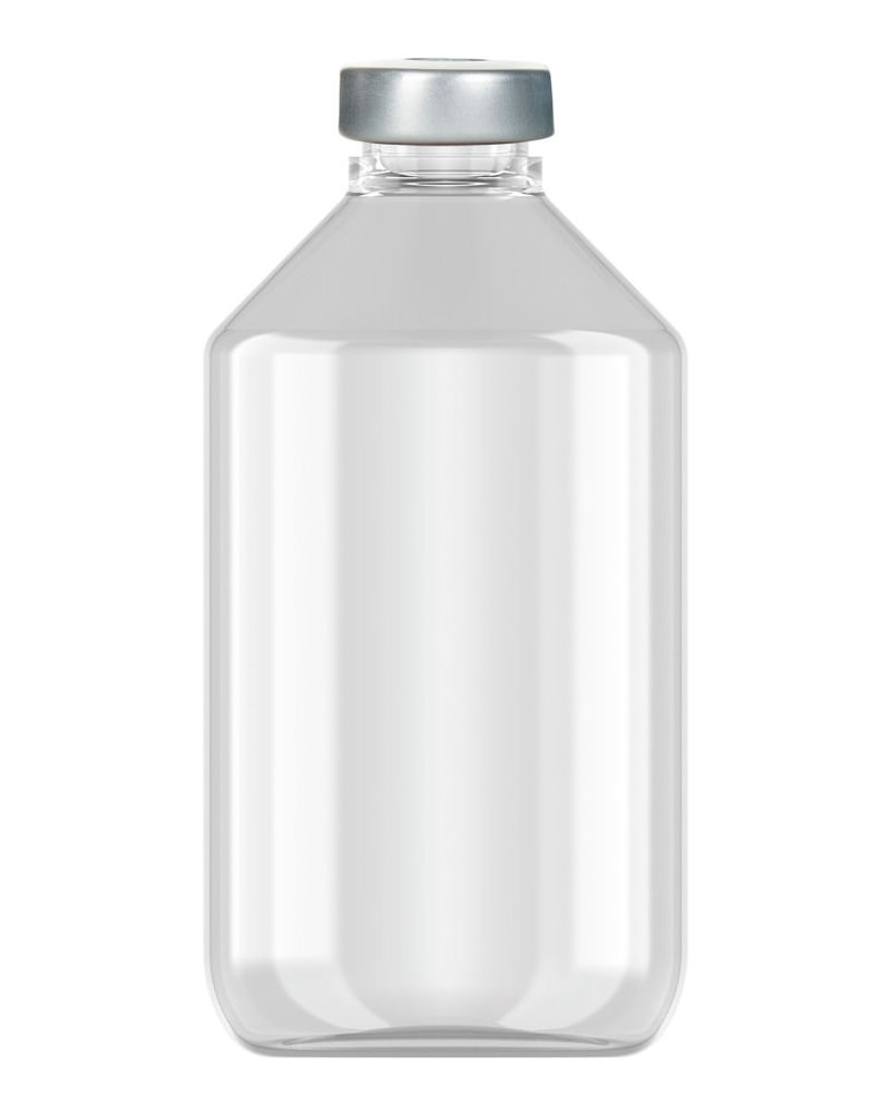 Clinch Vial Clear 100ml  2