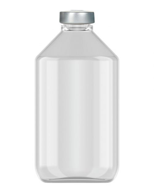 Clinch Vial Clear 125ml