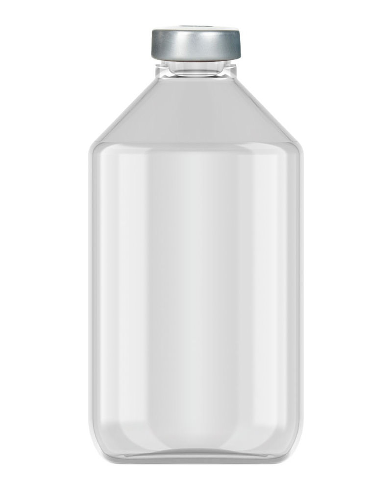 Clinch Vial Clear 125ml 3