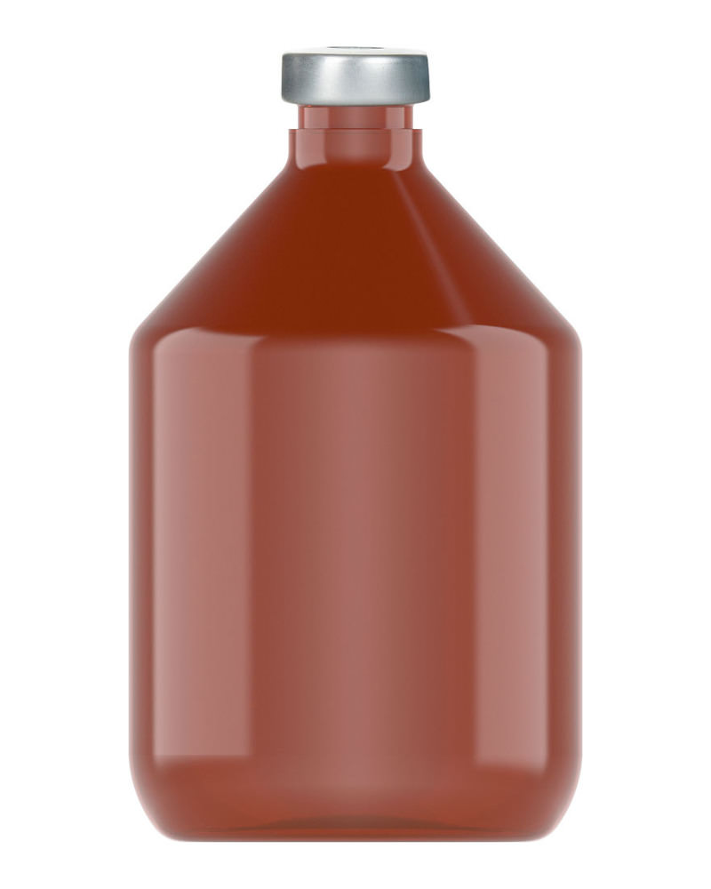 Clinch Vial Amber 200ml 2