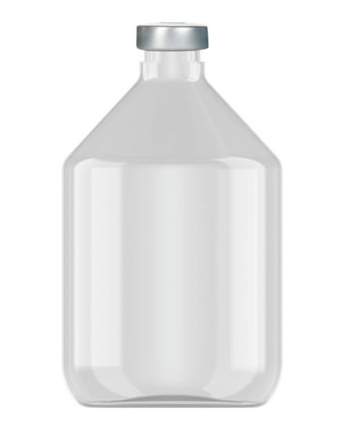 Clinch Vial Clear 200ml