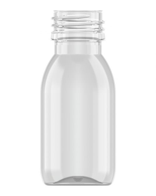 Tall Round Bottle 60ml