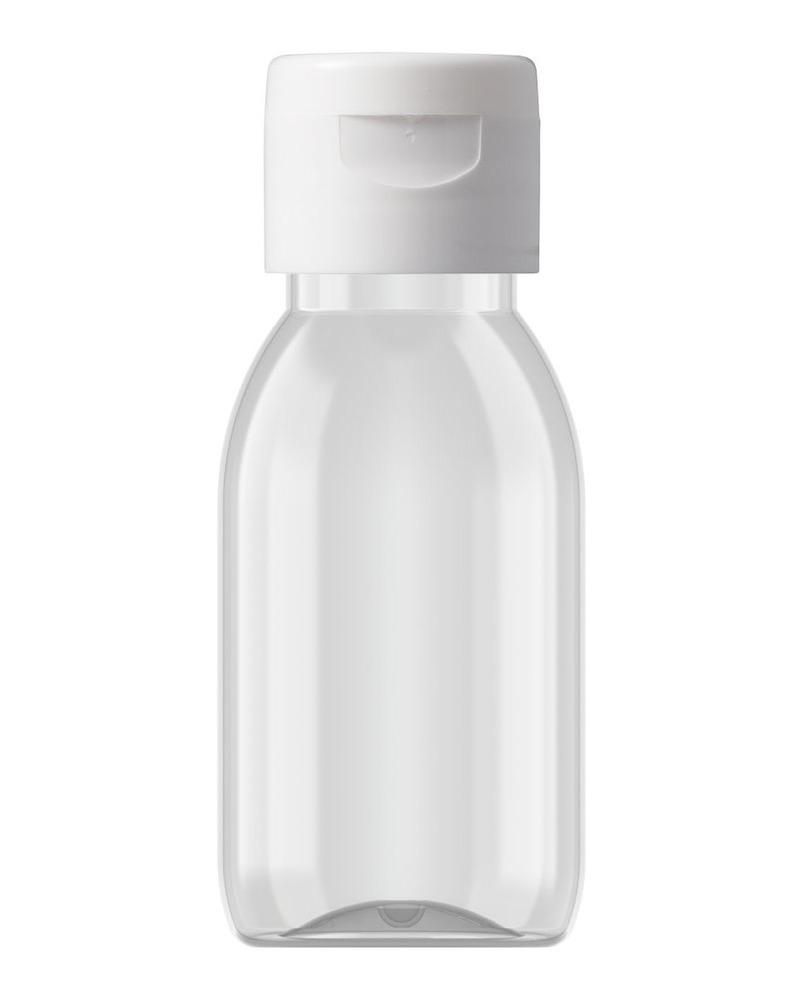 Tall Round Bottle 60ml 4