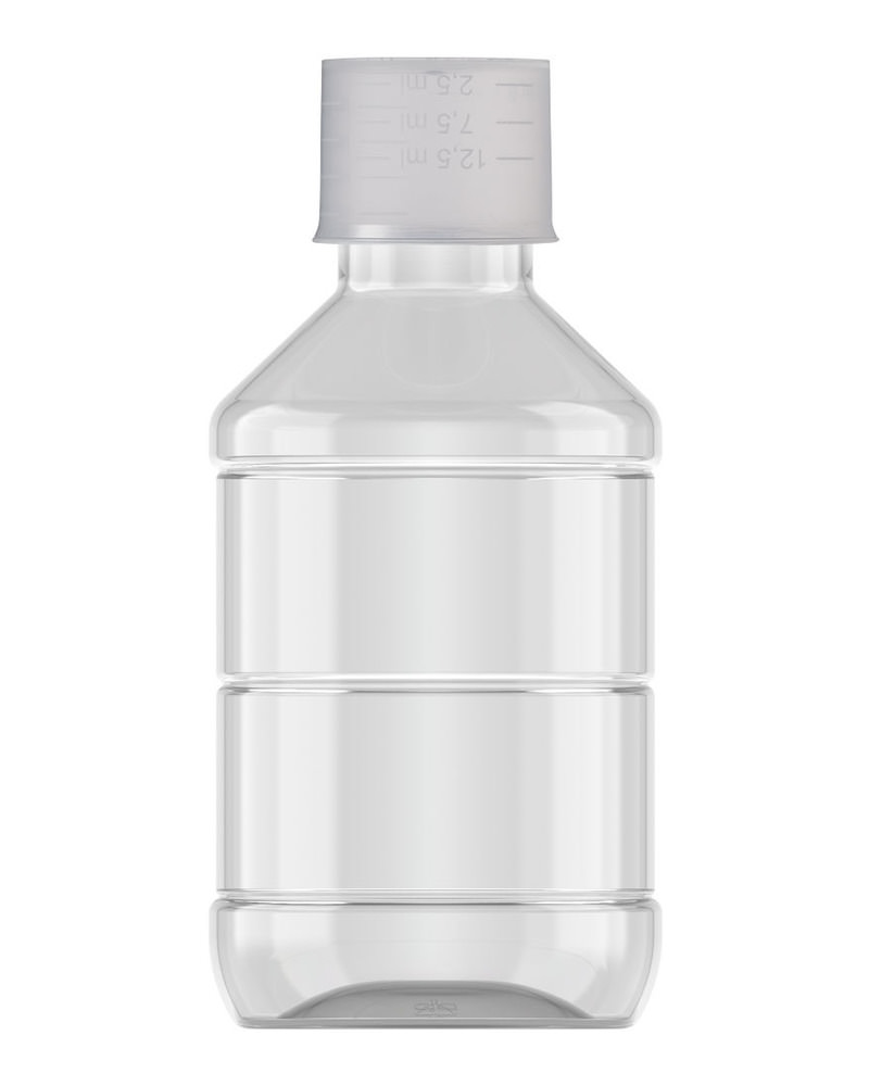 Ribbed Veral Clear 150ml 3