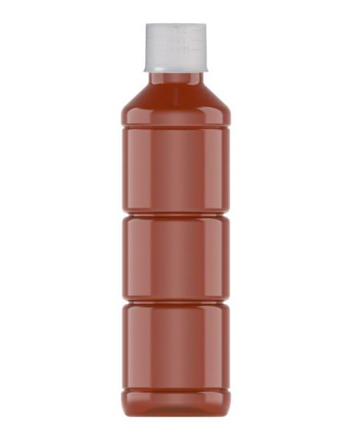 Ribbed Veral Amber 250ml