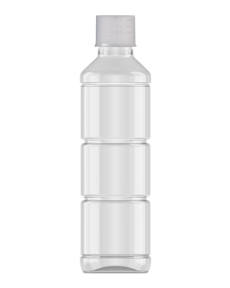 Ribbed Veral Clear 250ml 3