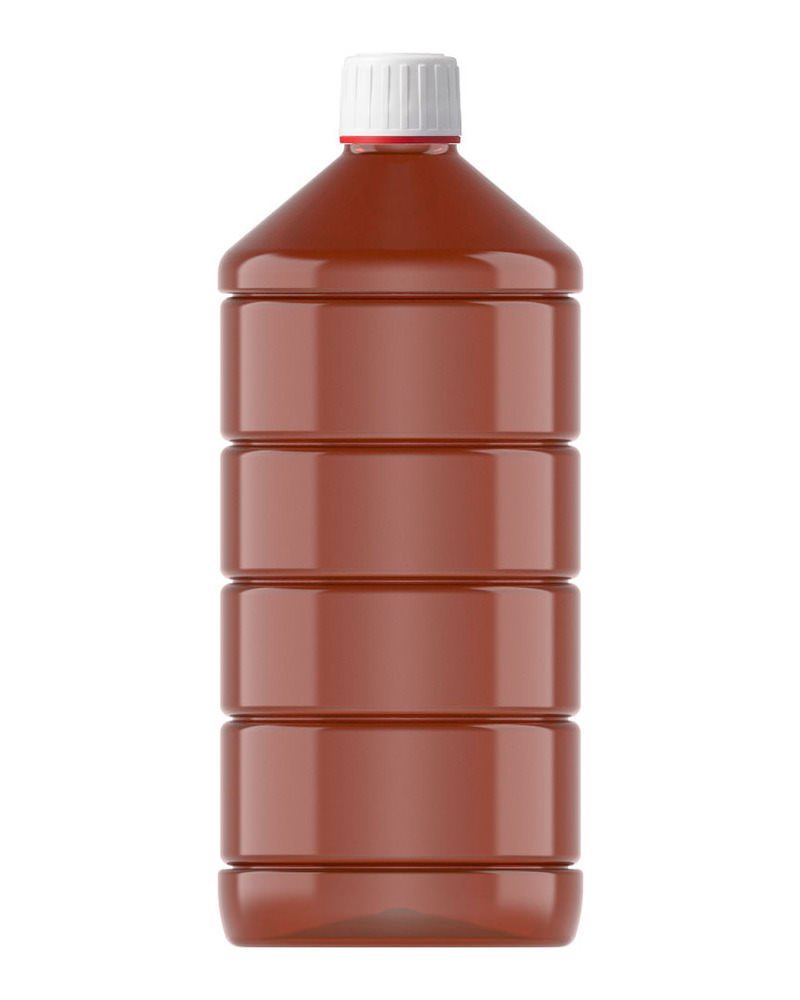 Ribbed Veral Amber 1000ml 5