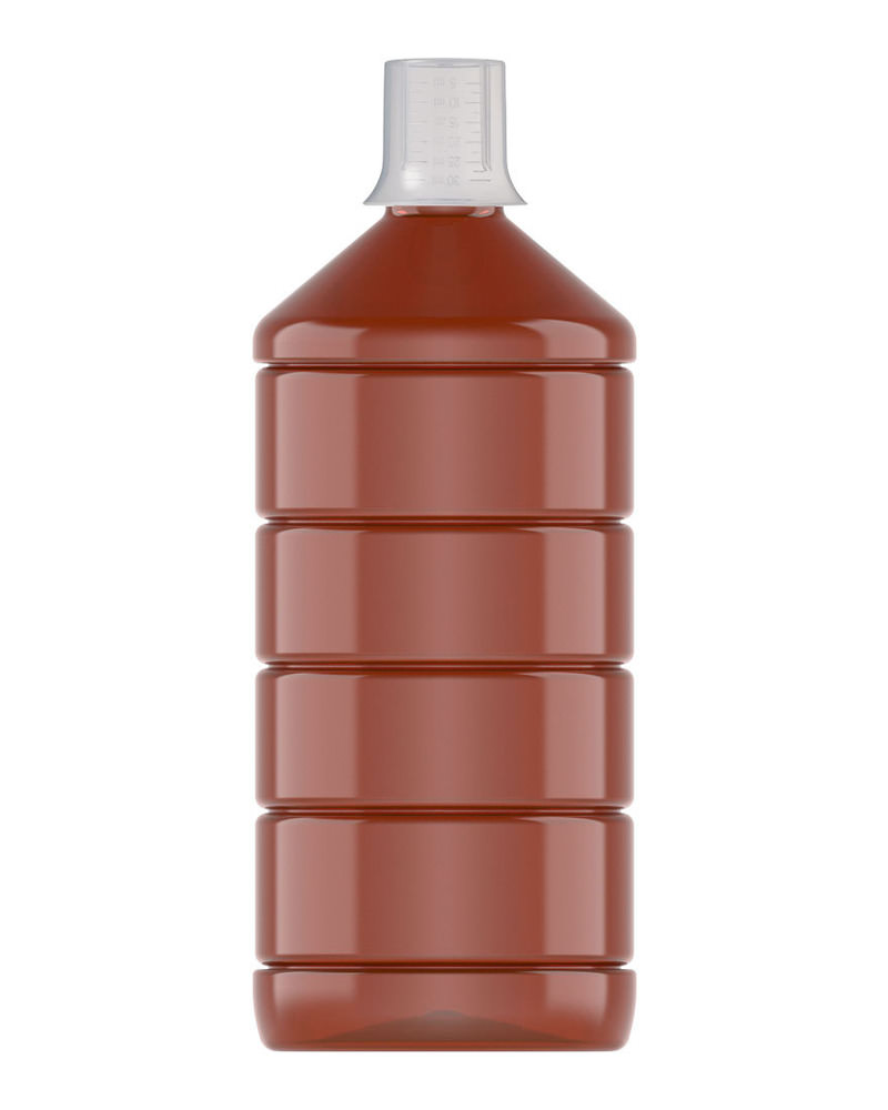 Ribbed Veral Amber 1000ml 3