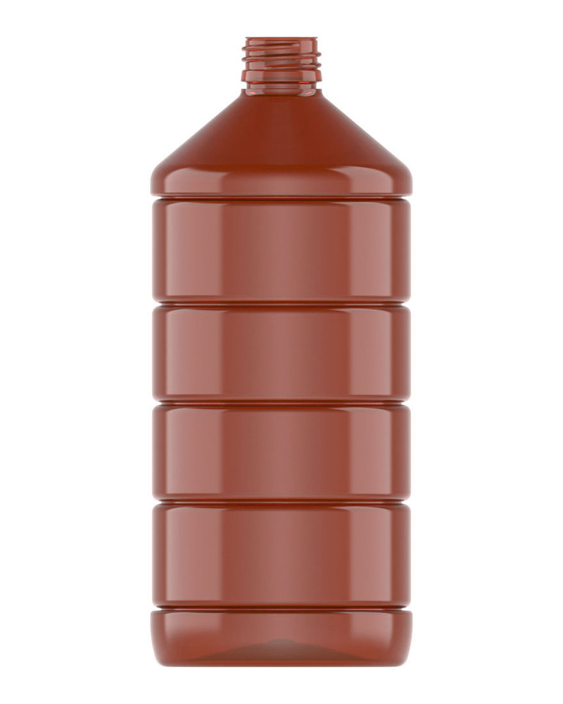 Ribbed Veral Amber 1000ml 1