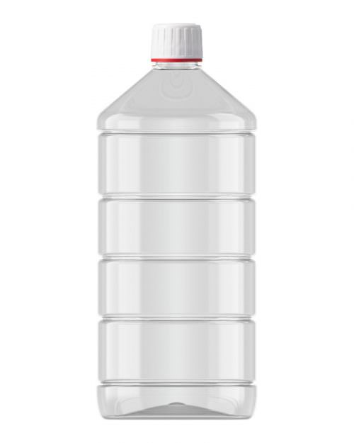 Ribbed Veral Clear 1000ml