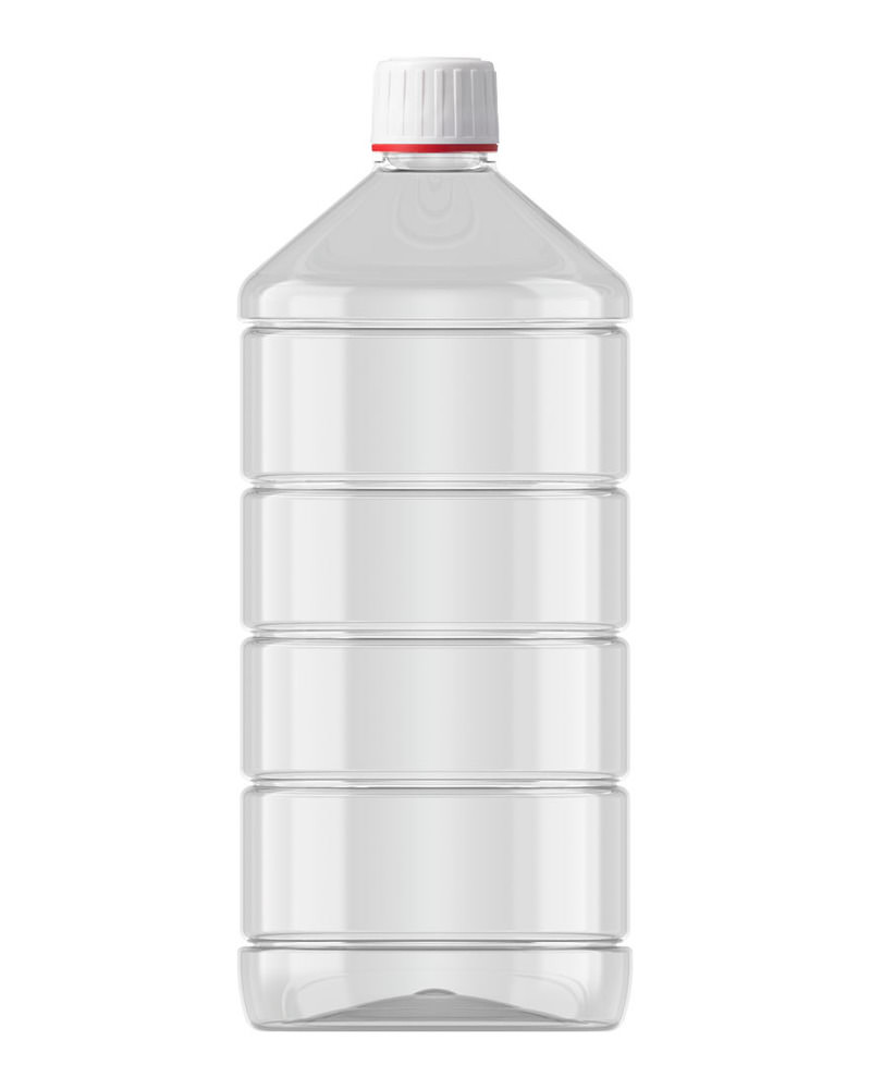Ribbed Veral Clear 1000ml 4
