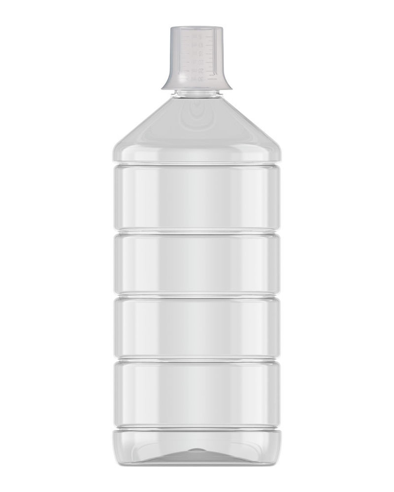 Ribbed Veral Clear 1000ml 2