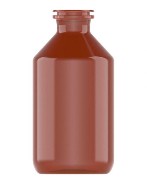 Clinch Vial Amber 250ml