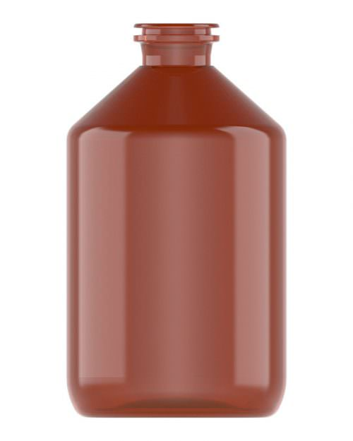 Clinch Vial Amber 500ml