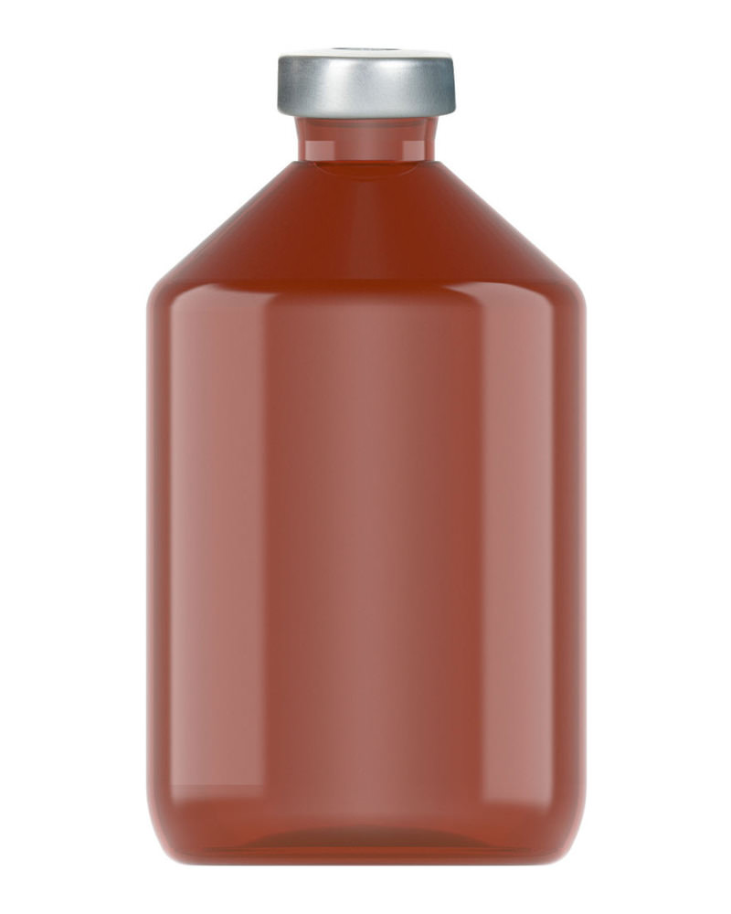 Clinch Vial Amber 500ml 3