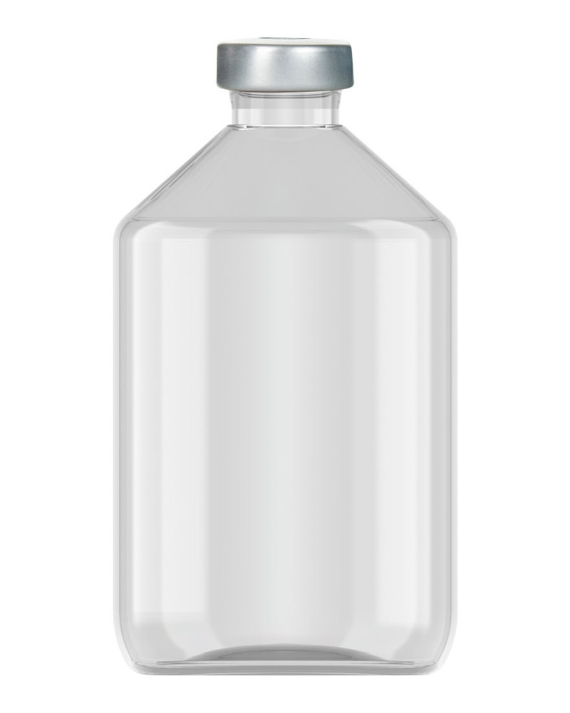 Clinch Vial Clear 500ml 3