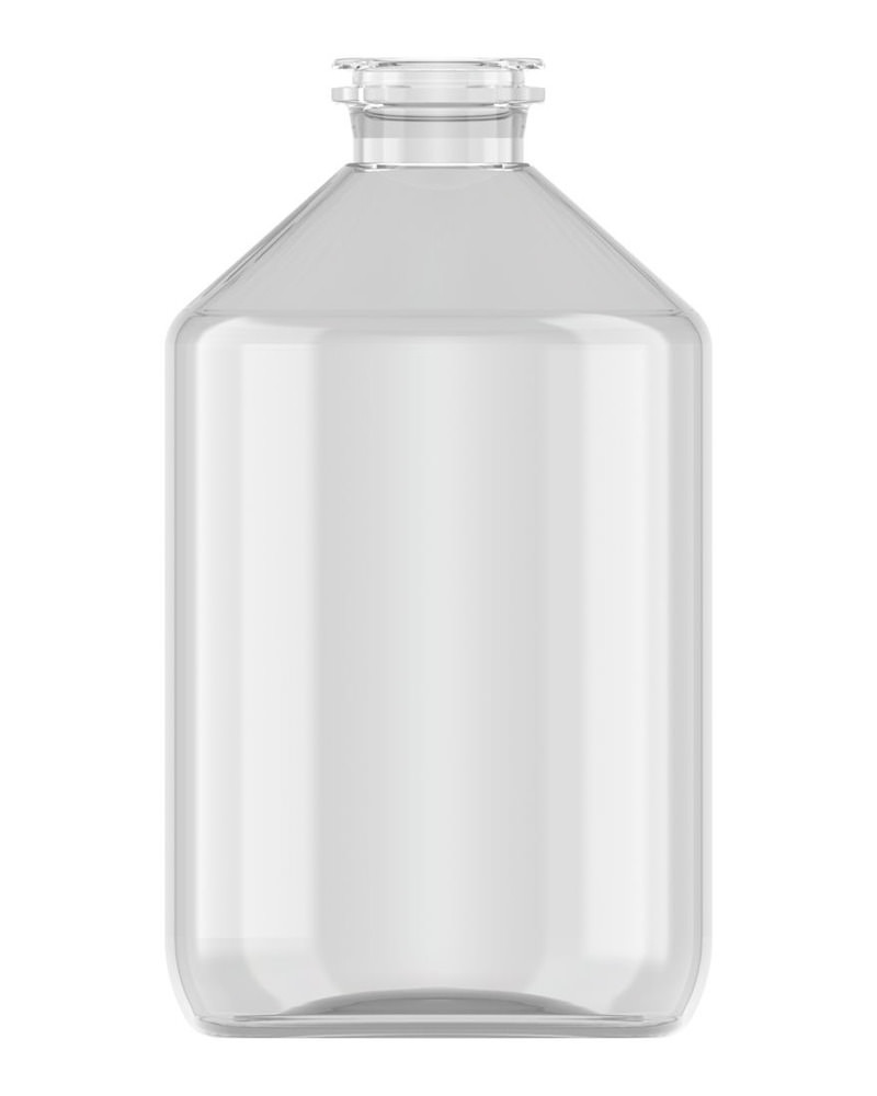 Clinch Vial Clear 500ml 1