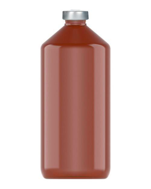 Clinch Vial Amber 1000ml