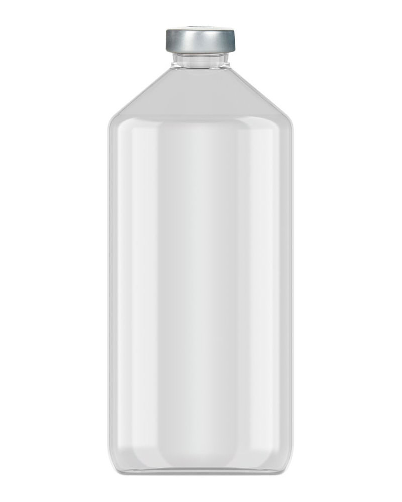 Clinch Vial Clear 1000ml  2