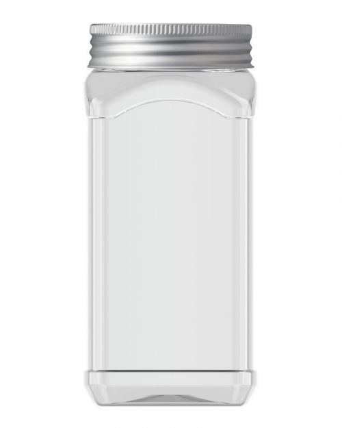 Square Jar 500ml