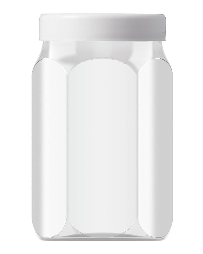 Hexagonal 800ml 5