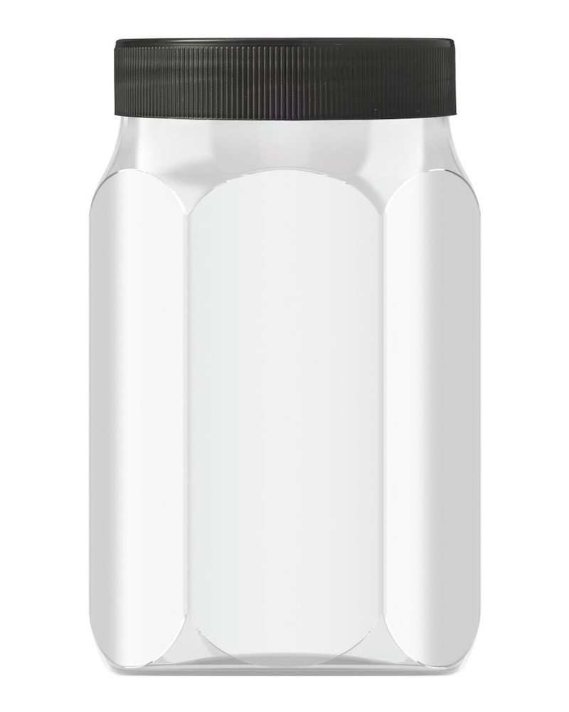 Hexagonal 800ml 4