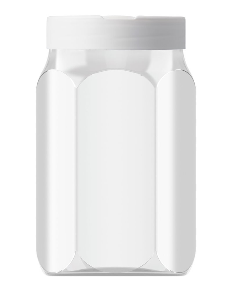 Hexagonal 800ml 3