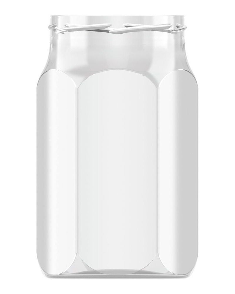 Hexagonal 800ml 1