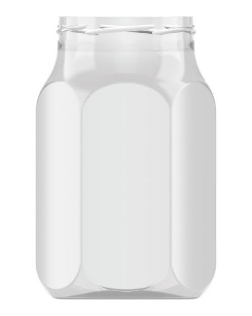 Hexagonal 1000ml