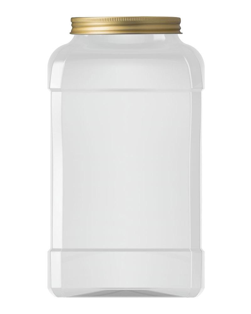 Rectangular Jar 4000ml 3