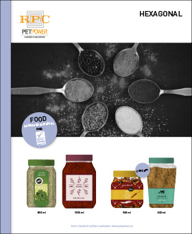 PETPower Spices Leaflets Hexagonal