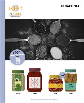 PETPower Spices Leaflets Hexagonal