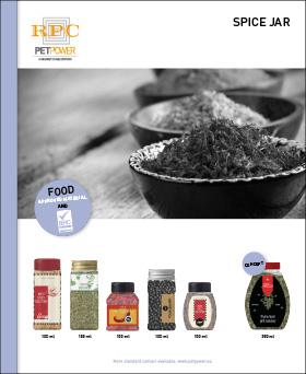 PETPower Spices Leaflets Spices Jar