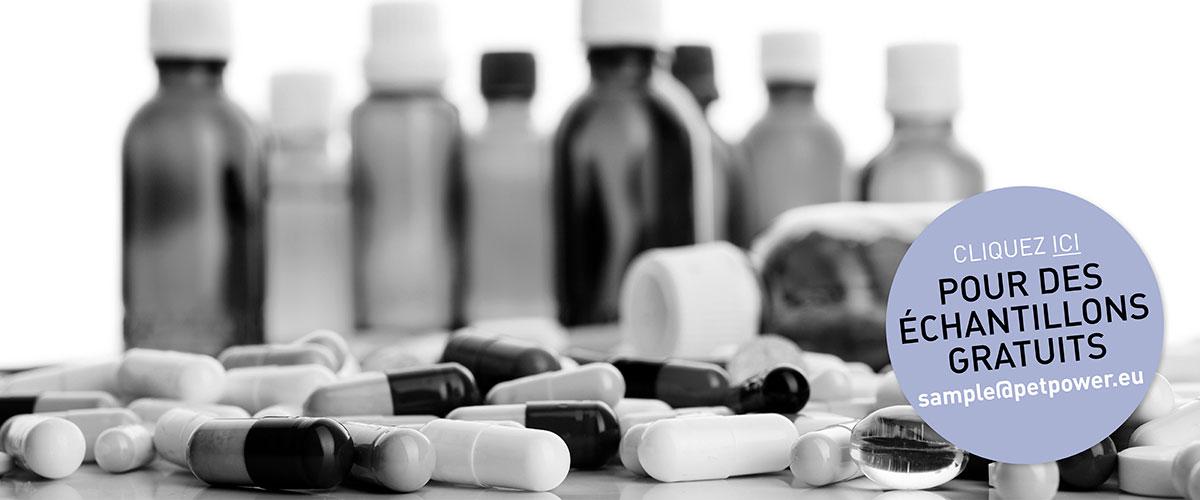 Headerfoto Pet Pharma Bottles Fr