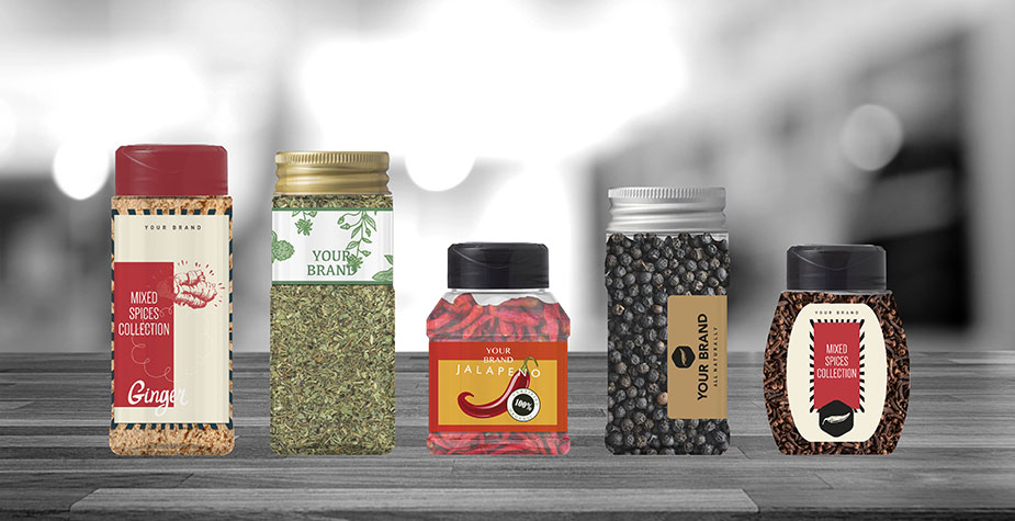 Spice containers - PET Power